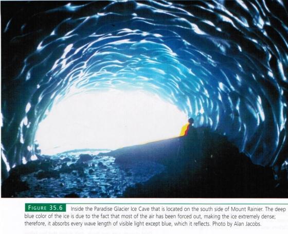 Paradise Ice Caves, Mt. Rainier
