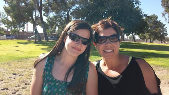 Francesca and Eleni