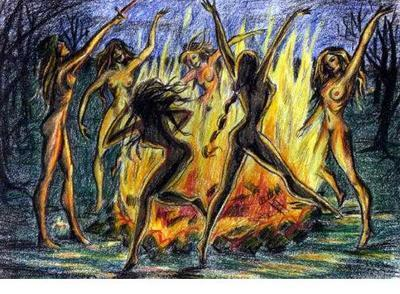 FireDancingWitches